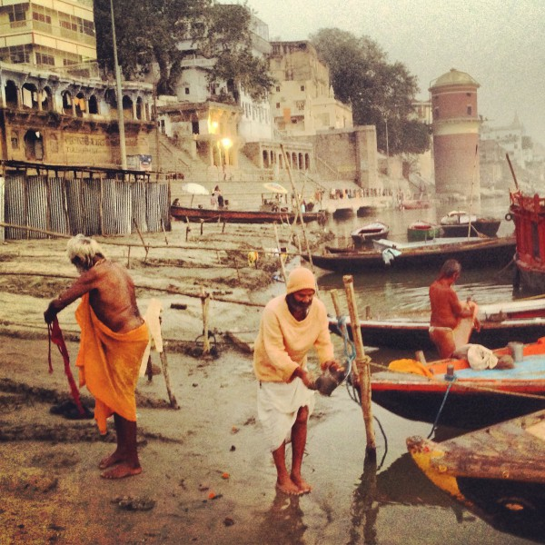 3.-Three-men-three-directions.-Varanasi-Ganges-early-morning.